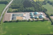 Kombianlage Biogas, Holzhackschnitzelkraftwerke, Gönnebek